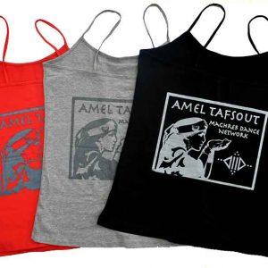 Amel Tafsout Tank Tops