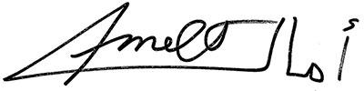 Amel Tafsout Signature