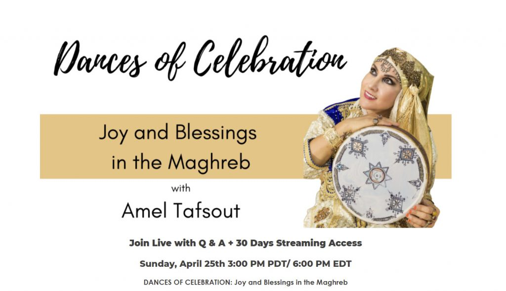 Dances of Celebration - joy and blessings in the maghreb event
