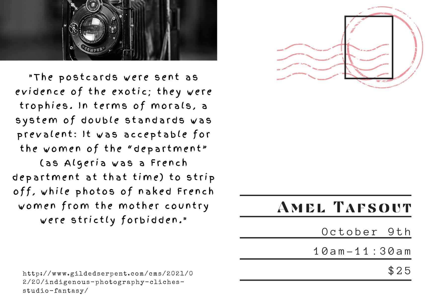 Misconception postcard flyer